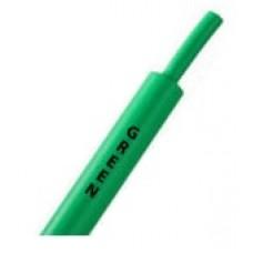 Зеленая термоусадочная трубка