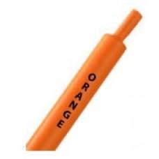 Оранжевая термоусадочная трубка